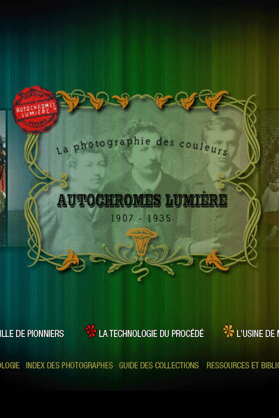 Site officiel http://www.autochromes.culture.fr